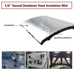 Car Noise Deadener Thermal Proof Mat Sound Deadening Heat Shield Pad 39and039and039x12and039and039