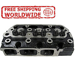 New Engine Cylinder Head Bare With Guide For Yanmar 3t90t-j Am877955 Am877953