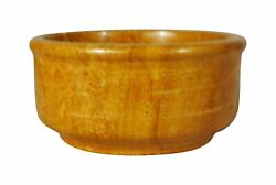 Indian Golden Stone Chatni Or Sous Bowl Yellow Stone From Jaiselmer 3 Inch