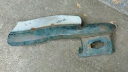 1954 Chevrolet Truck Drivers Side Center Grille Bar And Parking Light Housing 1955