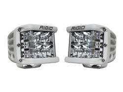 Rigid Industries D-ss Pro Spot Pair Led Side Shooter White Finish 862213