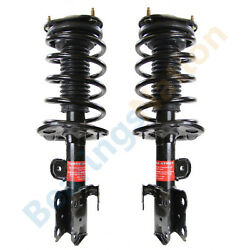 Monroe Front Quick Struts And Coil Spring For 2010 - 2015 Toyota Prius Pair Shocks