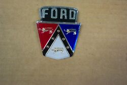 1954 1955 1956 Ford New Trunk Crest For Customline, Mainline And Wagons 54 55 56