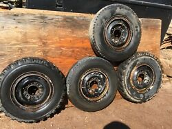 Set Of 4 1968 Chevy 3/4 Ton 16 Factory 2 Piece Rims Used