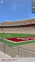 2 Front Row Aisle Tickets - Ohio State Buckeyes Vs Penn State - 10/30/2021