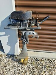 Vintage Clinton Engines Corp. Outboard Motor