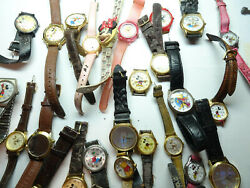 Mickey Mouse Armitron Lorus Bradley Character Vintage Watches To Restore Dwl-02