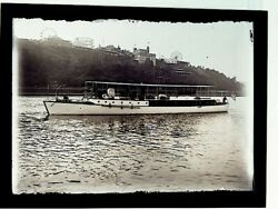 1900s Lot Fort George Amusement Park And Washington Heights Ny Glass Negatives