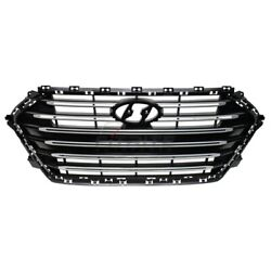 New Front Grille Abs Plastic Fits Hyundai Elantra 2017-2018 Hy1200211 86350f2500