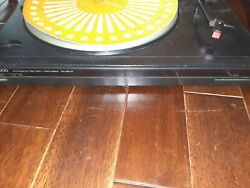Kenwood Kd-291r Vintage Semi Automatic Turntable Record Player Tested Working