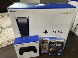 Brand New Sony Ps5 Blu Ray Disc Edition Gamestop Bundle Sold Out