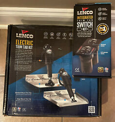 Lenco Trim Tabs 15015-101 And Led Switch 15170-001