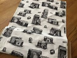 Fabric With Vintage Cameras