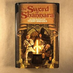 The Sword Of Shannara By Terry Brooks Signed, First Edition, 1977 Hardcover