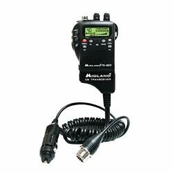Midland Authorized Reseller 75-822 Handheld Cb/weather Radio With 40 Channels