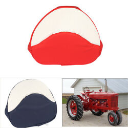 Fit For Farmall H M Series 300 450 Cub Tractor Seat Cushion Seat Padded Red/blue