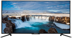 Sceptre Tv 55-inch Class 4k Uhd Led Television Hdr Home Entertainment Bedroom