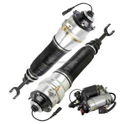 For Audi A8 Quattro And S8 Pair Arnott Front Air Struts W/ Compressor Csw