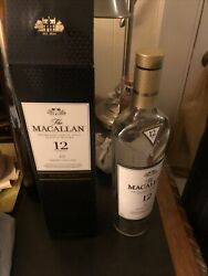 The Macallan 12 Year Double Cask Scotch Whisky Empty Bottle And Box