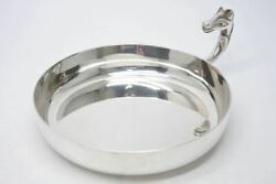 Hermes Paris Tray Plate Hose Horse Silver Made In France