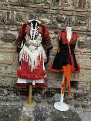Womenand039s Ethnic Costume From Mariovo Region Complete Detailed Mariovo Costume