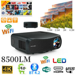 Native 1080p Project Hd Video Home Cinema Movie Support Display 4k 8500lumens