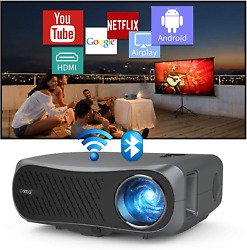 Native 1080p 5g Wifi Bluetooth Video Projector Full Hd 7200lumens Android Hdmi