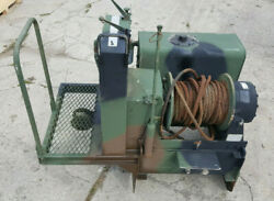 Dp Manufacturing 45bdx1l1d 45,000 Lb Military Vehicle Hydraulic Winch Recovery