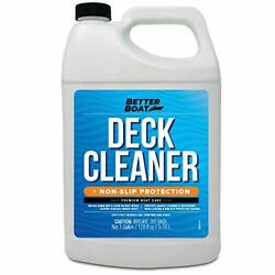 Boat Deck Cleaner Marine Grade To Clean Anti Stick Surfaces On Boats Gallon Size