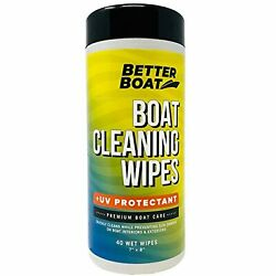 Better Boat Cleaner Wipes With Uv Marine Boat Vinyl And Boat Seat Cleaner