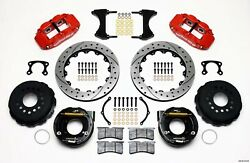 140 9219 Dr Rear Disc Brake Kit Red Fits Ford New Style 12.88