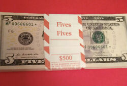 ⭐️WOW⭐️1 EA $5 2013 FANCY SERIAL#⭐️STAR NOTE Bills With COOLEST RARE NUMBERS⭐️