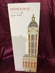 Dept 56 Christmas In The City, The Singer Building - 6000569, Nib