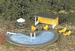 Bachmann - Park Accessories -- Swimming Pool And Accessories - Ho - 42215