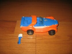 Vtg 1970s Processed Plastic Co Beach Runner Speed Boat And Dune Buggy Toy Car Set