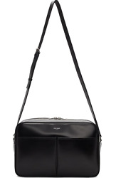 Saint Laurent Brooklyn Messenger Bag In Smooth Leather