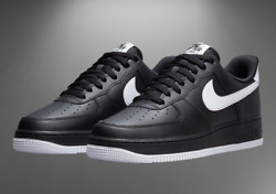 Nike Air Force 1 And03907 Shoes Black White Dc2911-002 Menand039s Multi Size New
