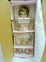 Sunday Visit Chatty Cathy Talking Doll Porcelain Danbury Mint 2001 Never Removed