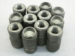 Lot Of 12 Bruning Ns-371 Hydraulic Fittings Flat Face Couplers 3/8 Body To...