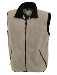 Big And Tall Panda Fleece Vest In 6 Colors Up To 6xt