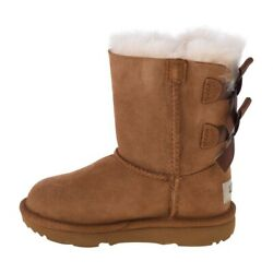 Ugg Bailey Bow Ii T Kids 1017394t-che Brown