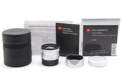【top Mint In Box】leica Summarit M 50mm F/2.4 Silver 11681 From Japan 2885