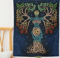 NEW TREE OF LIFE HIPPIE BOHEMIAN TAPESTRY WALL HANGING DECORATION TAROT TAPESTRY