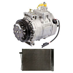 For Bmw 525i 2004 2005 Oem Ac Compressor W/ A/c Condenser And Drier Csw