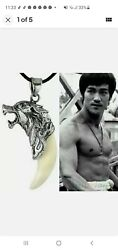 Bruce Lee Dragon Tooth Claw Necklace