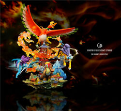 Cresce Studio Pokemon Resin Statue Four Holy Beasts Limited Statue
