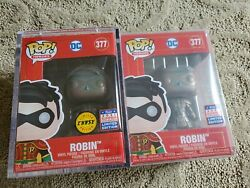 Funko Pop Dc Robin Imperial Palace Patina Chase And Common Set