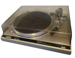 Technics Sl-q2 Turntable Automatic Direct Drive Made In Japan Great Condition.