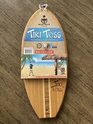 Tiki Toss Original Hook And Ring Game 100 Bamboo - Heavy New