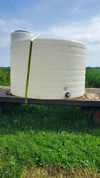 1500 Gallon Clean Water Hauling Tank With Trailer